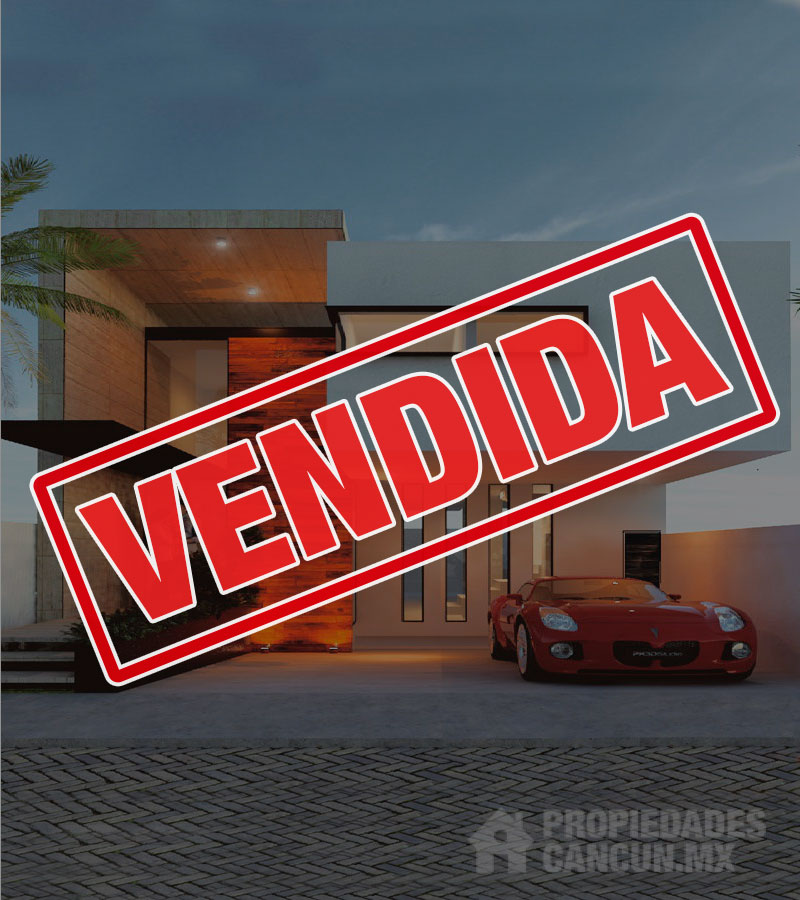 vendida casa residencial arbolada cancun amated14