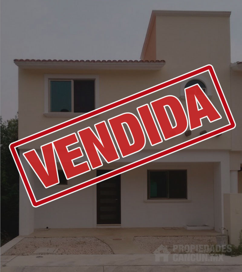 vendida casa venta residencial arbolada cancun mangle15