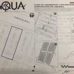 plano terreno residencial aqua cancun apoled