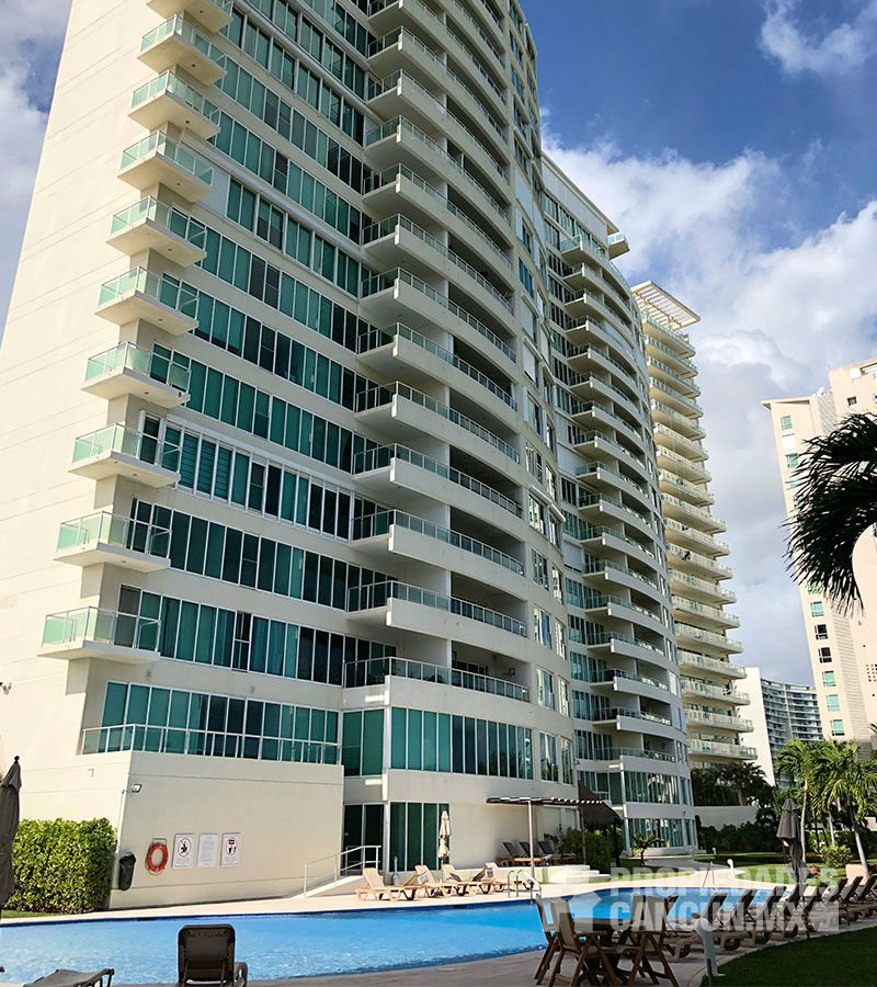 vapor departamento residencial isola cancun isoled902