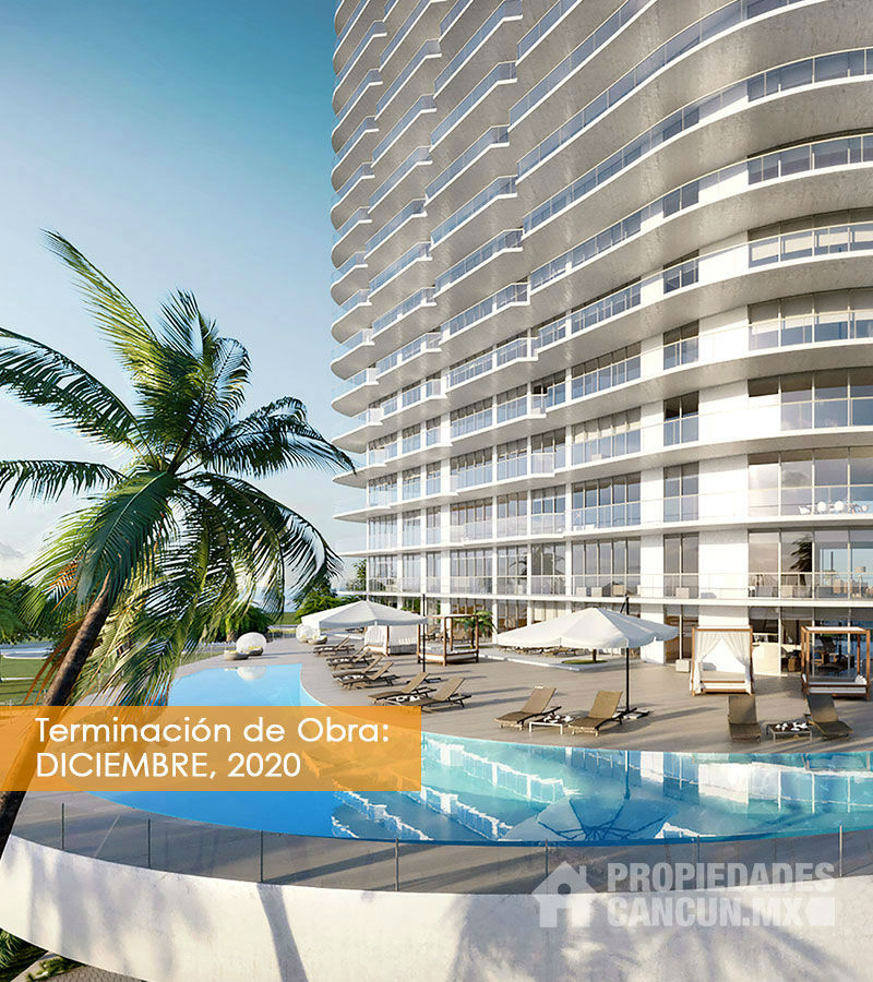 vistaR departamento desarrollo puerto cancun sls harbour beach