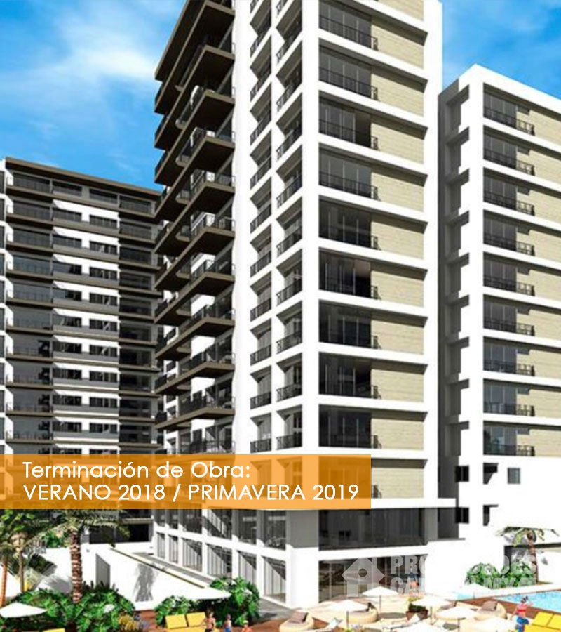 fachadaR desarrollo brezza towers cancun