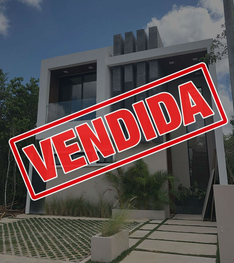 vendida casa residencial aqua cancun apoled23