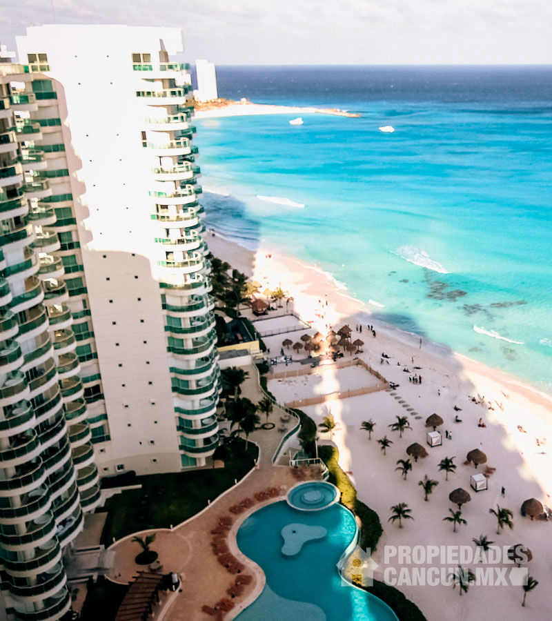 vista departamento bayview grand cancun bayed18